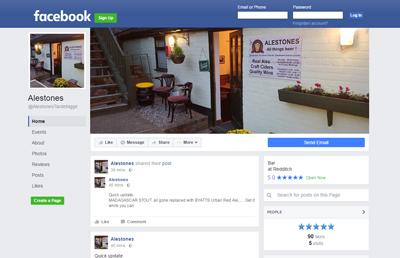 Link to Alestones Facebook page