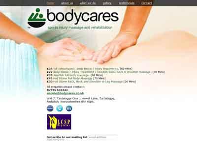 Link to Bodycares website