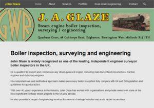 Link to John Glaze website