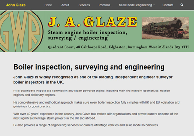 Link to John Glaze website