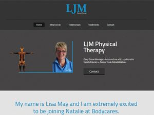 Link to LJM Physical Therapy website