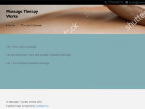 Link to Massage Therapy Works website