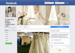 link to Occasions by design Facebook page